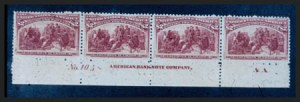Sale Number 267, Lot Number 58, Columbian Issue$2.00 Columbian (242), $2.00 Columbian (242)