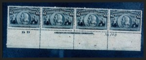 Sale Number 267, Lot Number 61, Columbian Issue$5.00 Columbian (245), $5.00 Columbian (245)