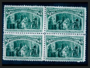 Sale Number 267, Lot Number 63, Columbian Issue$3.00 Columbian (243), $3.00 Columbian (243)