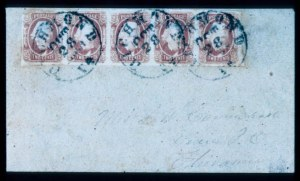 Sale Number 330, Lot Number 208, Confederate States2c Red Brown (8), 2c Red Brown (8)