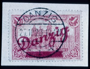 Sale Number 330, Lot Number 233, General ForeignDANZIG, 1920, 1m Carmine (47), DANZIG, 1920, 1m Carmine (47)