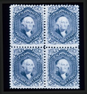 Sale Number 330, Lot Number 83, 1867-68 Grilled Issues24c Gray Lilac, F. GriII (99), 24c Gray Lilac, F. GriII (99)