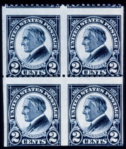Sale Number 371, Lot Number 183, Later Issues2c Harding, Imperforate Vertically (610a), 2c Harding, Imperforate Vertically (610a)