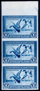 Sale Number 371, Lot Number 228, Revenues$1.00 Blue, Hunting Permit, Imperforate (RW1a), $1.00 Blue, Hunting Permit, Imperforate (RW1a)