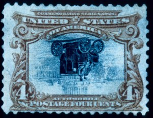 Sale Number 391, Lot Number 106, Pan-American Issue4c Pan-American, Center Inverted (296a), 4c Pan-American, Center Inverted (296a)