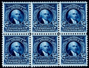 Sale Number 391, Lot Number 109, 1902-08 Issue$2.00 Dark Blue (312), $2.00 Dark Blue (312)