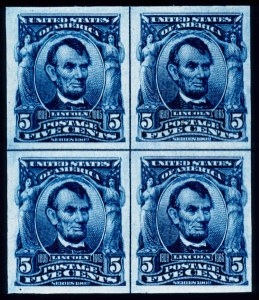Sale Number 391, Lot Number 112, 1902-08 Issue5c Blue, Imperforate (315), 5c Blue, Imperforate (315)