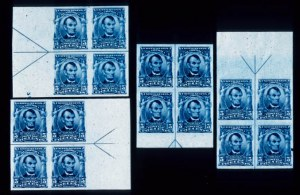 Sale Number 391, Lot Number 114, 1902-08 Issue5c Blue, Imperforate (315), 5c Blue, Imperforate (315)