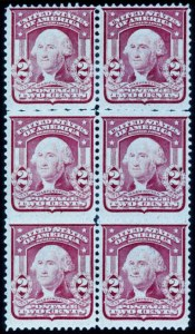Sale Number 391, Lot Number 115, 1902-08 Issue2c Carmine, Rouletted Horizontally (319 var.), 2c Carmine, Rouletted Horizontally (319 var.)