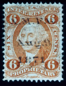 Sale Number 391, Lot Number 204, Postage Due thru Revenue6c Proprietary (R31c), 6c Proprietary (R31c)