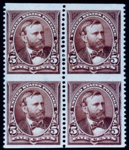 Sale Number 391, Lot Number 93, 1894-98 Bureau Issues5c Brown, Imperforate Horizontally (255c), 5c Brown, Imperforate Horizontally (255c)