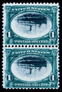 Sale Number 428, Lot Number 128, Pan-American Issue1c Pan-American, Center Inverted (294a), 1c Pan-American, Center Inverted (294a)