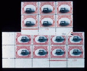Sale Number 428, Lot Number 130, Pan-American Issue2c Pan-American (295). Bottom Imprint Plate No, 2c Pan-American (295). Bottom Imprint Plate No