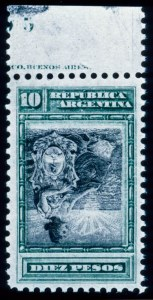 Sale Number 448, Lot Number 299, General Foreign- 1899, 10p Green & Black, Inverted Center (141a), - 1899, 10p Green & Black, Inverted Center (141a)