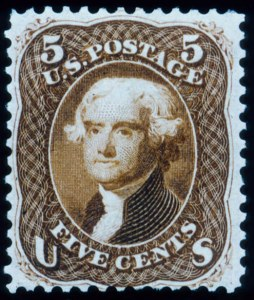 "Sale Number 448, Lot Number 49, 1861-66 Issue5c Brown, ""First Design"" (57), 5c Brown, ""First Design"" (57)"