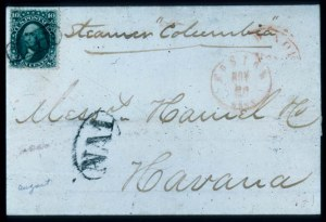 "Sale Number 448, Lot Number 55, 1861-66 Issue10c Dark Green, ""First Design"" (62B), 10c Dark Green, ""First Design"" (62B)"