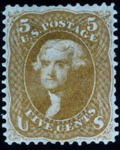 Sale Number 448, Lot Number 59, 1861-66 Issue5c Buff (67), 5c Buff (67)