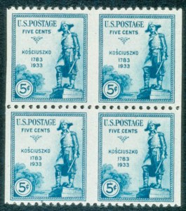 Sale Number 468, Lot Number 180, 1922 and Later Issues5c Kosciuszko, Imperf. Vertically (734a), 5c Kosciuszko, Imperf. Vertically (734a)