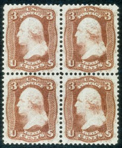 "Sale Number 468, Lot Number 62, 1861-66 Issue3c Brown Rose, ""First Design"" (56), 3c Brown Rose, ""First Design"" (56)"