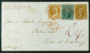 Sale Number 468, Lot Number 70, 1861-66 Issue5c Buff, 10c Green, 30c Orange (67, 68, 71), 5c Buff, 10c Green, 30c Orange (67, 68, 71)