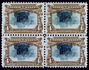 Sale Number 489, Lot Number 170, Pan-American Issue4c Pan-American, Center Inverted (296a), 4c Pan-American, Center Inverted (296a)