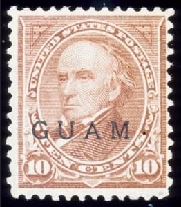 Sale Number 489, Lot Number 282, U.S. PossessionsGUAM, 1899, 10c Brown, Ty. II (9), GUAM, 1899, 10c Brown, Ty. II (9)