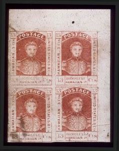 Sale Number 489, Lot Number 286, U.S. Possessions1853, 13c Dark Red (6), 1853, 13c Dark Red (6)