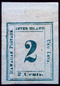 Sale Number 489, Lot Number 291, U.S. Possessions1859, 2c Light Blue on Bluish White (13), 1859, 2c Light Blue on Bluish White (13)