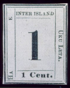 "Sale Number 489, Lot Number 302, U.S. Possessions1864, 1c Black on Laid, ""HA"" Instead of ""HAWAIIAN'"" (23a), 1864, 1c Black on Laid, ""HA"" Instead of ""HAWAIIAN'"" (23a)"