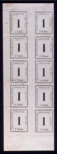 Sale Number 489, Lot Number 304, U.S. Possessions1864, 1c Black on Laid (23), 1864, 1c Black on Laid (23)