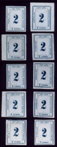 Sale Number 489, Lot Number 312, U.S. Possessions1865, 2c Dark Blue (26), 1865, 2c Dark Blue (26)