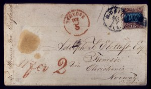 Sale Number 510, Lot Number 106, 1869 Pictorial Issue15c Brown & Blue, Ty. ll (119), 15c Brown & Blue, Ty. ll (119)