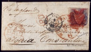 Sale Number 510, Lot Number 114, 1869 Pictorial Issue30c Blue & Carmine (121), 30c Blue & Carmine (121)