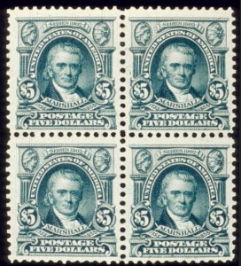 Sale Number 510, Lot Number 177, 1902-08 Issue$5.00 Dark Green (313), $5.00 Dark Green (313)