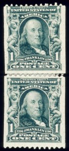 Sale Number 510, Lot Number 179, 1902-08 Issue1c Blue Green, Coil (316), 1c Blue Green, Coil (316)
