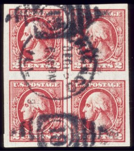 Sale Number 510, Lot Number 196, 20th Century Up to 1922 Issue2c Carmine, Offset Imperforate, Ty. VII (534B), 2c Carmine, Offset Imperforate, Ty. VII (534B)