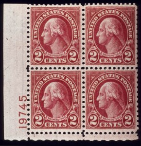 Sale Number 510, Lot Number 199, 1922 and Later Issues2c Carmine, Ty. II (634A). B.L. Plate No, 2c Carmine, Ty. II (634A). B.L. Plate No