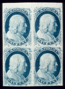 Sale Number 510, Lot Number 36, 1851-56 Issue1c Blue, Ty. II (7), 1c Blue, Ty. II (7)