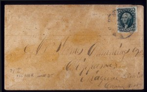 Sale Number 510, Lot Number 47, 1851-56 Issue10c Green, Ty. I (13), 10c Green, Ty. I (13)