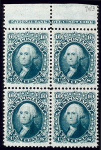 Sale Number 510, Lot Number 88, 1867-68 Grilled Issues10c Green, F. Grill (96), 10c Green, F. Grill (96)