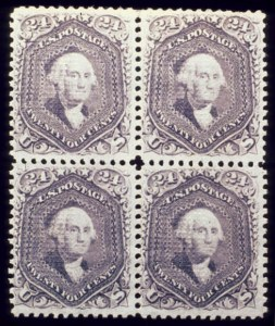 Sale Number 510, Lot Number 90, 1867-68 Grilled Issues24c Gray Lilac, F. Grill (99), 24c Gray Lilac, F. Grill (99)