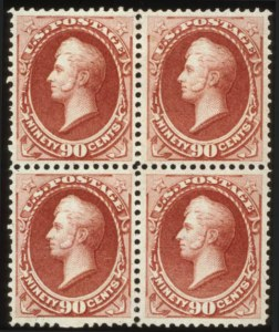 Sale Number 560, Lot Number 164, 1870-93 Bank Note Issues90c Rose Carmine (166), 90c Rose Carmine (166)