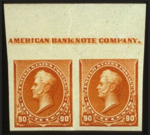 Sale Number 560, Lot Number 181, 1870-93 Bank Note Issues90c Orange, Imperforate (229a), 90c Orange, Imperforate (229a)
