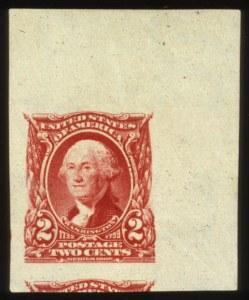 Sale Number 560, Lot Number 234, 1902-08 Issue2c Carmine Imperforate (301 var), 2c Carmine Imperforate (301 var)