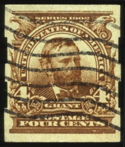 Sale Number 560, Lot Number 241, 1902-08 Issue4c Brown, Imperforate (314A), 4c Brown, Imperforate (314A)