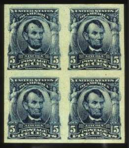Sale Number 560, Lot Number 242, 1902-08 Issue5c Blue, Imperforate (315), 5c Blue, Imperforate (315)