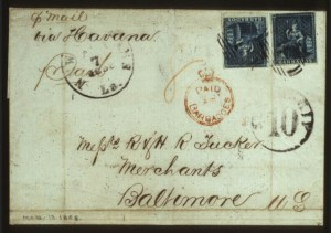 Sale Number 560, Lot Number 366, General ForeignBARBADOS, 1856, 1p Blue (6), BARBADOS, 1856, 1p Blue (6)