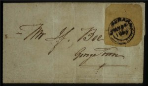 Sale Number 560, Lot Number 373, General ForeignBRITISH GUIANA, 1850, 4c Black on Yellow Pelure (3), BRITISH GUIANA, 1850, 4c Black on Yellow Pelure (3)