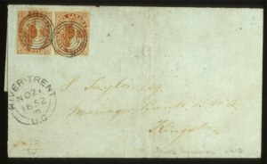 Sale Number 560, Lot Number 376, General Foreign1851, 3p Red (1), 1851, 3p Red (1)