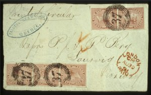 Sale Number 560, Lot Number 379, General Foreign1857, 1/2p Rose (8), 1857, 1/2p Rose (8)